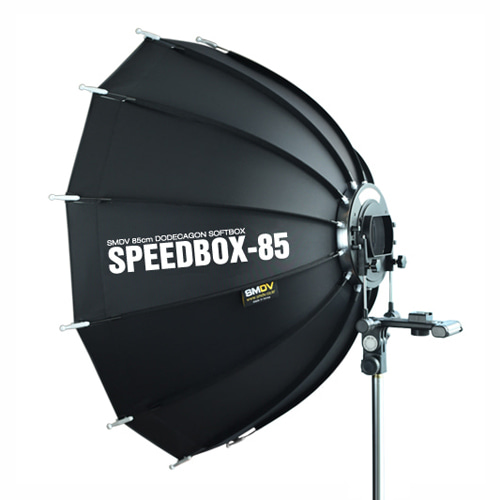 SPEEDBOX-85 / Size : 85 x 90 cm SOFTBOX SPEEDLITE STROBE (Not for High Heat Usage)SMDV
