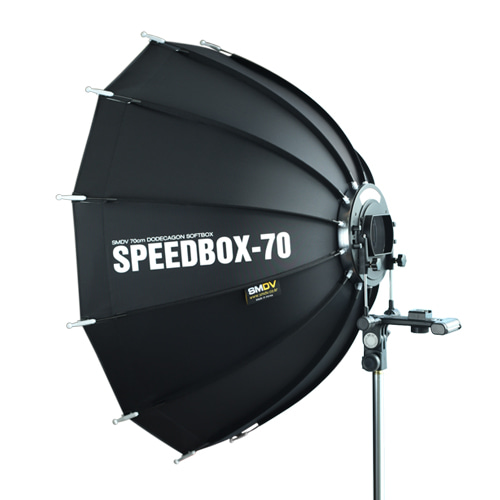 SPEEDBOX-70 / Size : 70 x 68 cm SPEEDLITE SOFTBOX / Speedlite TypeSMDV