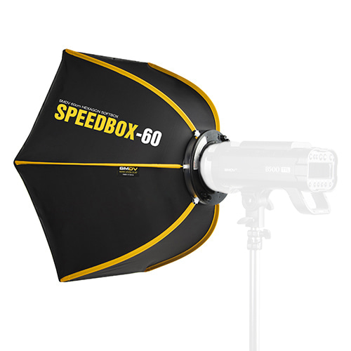 SPEEDBOX-60 / Size : 60 x 52 cm SPEEDLITE SOFTBOX / Bowens TypeSMDV