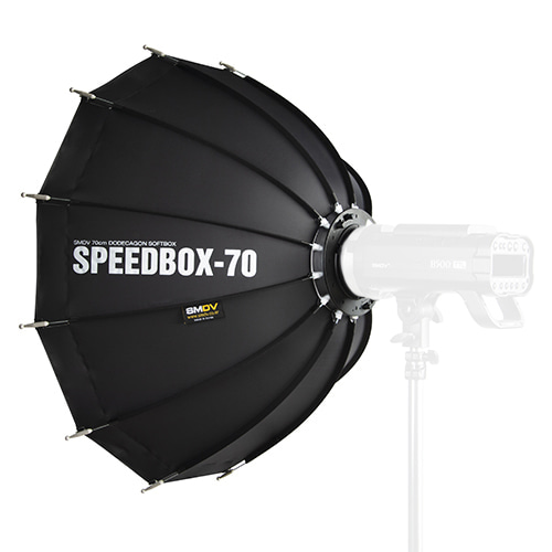 SPEEDBOX-70 / Size : 70 x 68 cm SPEEDLITE SOFTBOX / Bowens TypeSMDV