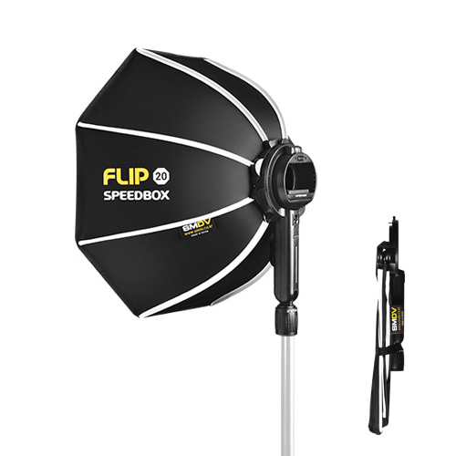 *NEW* SPEEDBOX-FLIP20 Size : 20 inch For Speedlight / For A1 Flash / For V1 Flash / SOFTBOXSMDV